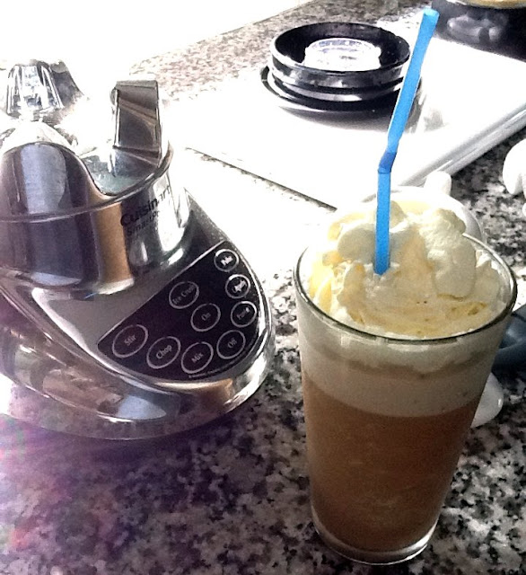 Recipe For Homemade Frappuccino and My Rant Against Fake Espresso