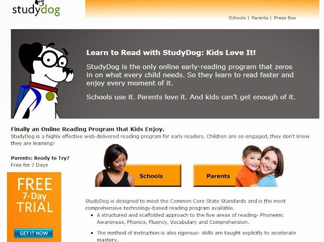 The StudyDog Website