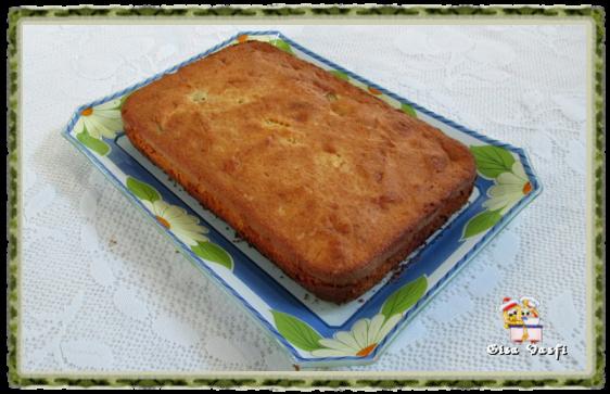 Torta azedinha de banana 1