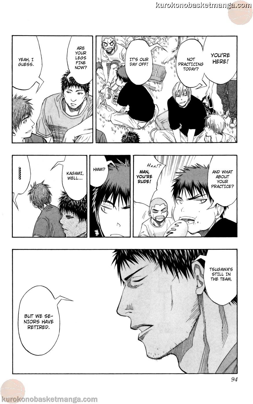 Kuroko no Basket Manga Chapter 75 - Image 08