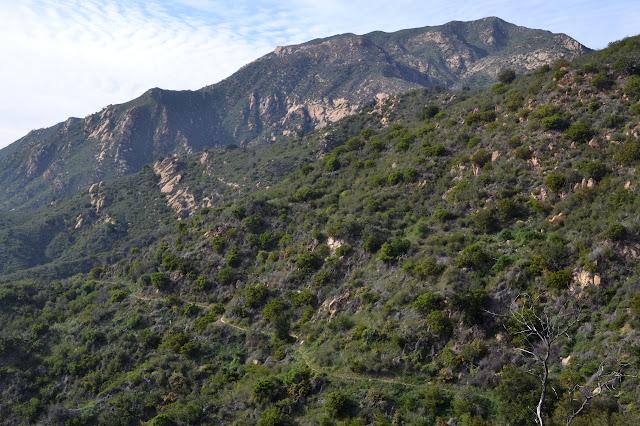 trail below