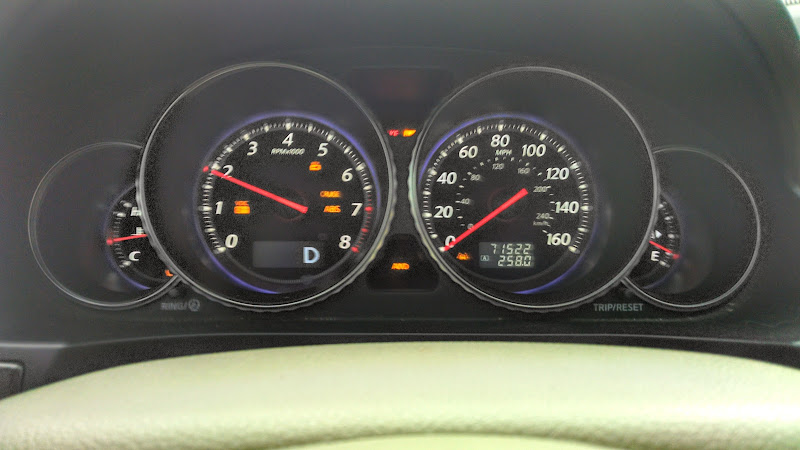 electrical problem / warning lights / no power steering