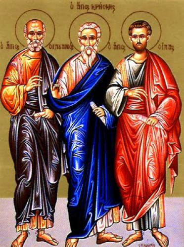 The Holy Apostles Of The Seventy Silas Silvanus Crescens Epenetus And Andronicus
