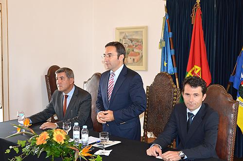 Contrato de financiamento assinado na passada sexta-feira em Óbidos