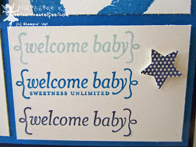 stampin up, baby prints, babyglück, simply stars, sweetness unlimited
