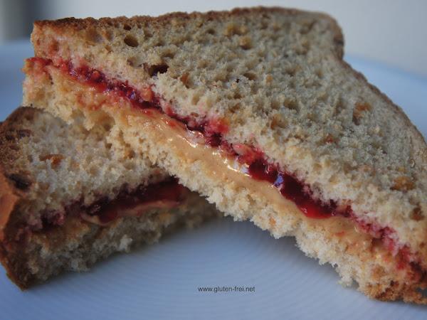 REZEPT: Peanut Butter & Jelly Sandwich