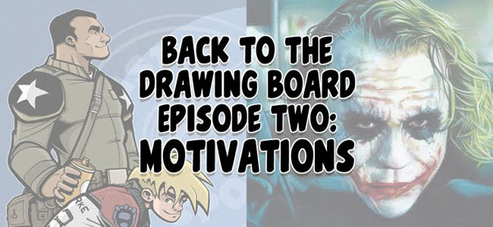 Back To The Drawing Board Podcast, episode 2 © 2012 Jeff Lafferty
