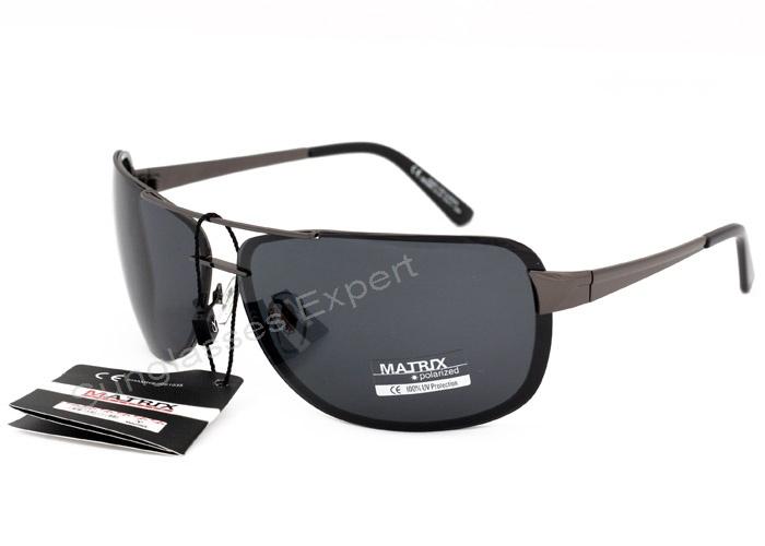 Collection Polarized Smoke Grey Matrix Lenses Sunglasses iOkXZPu