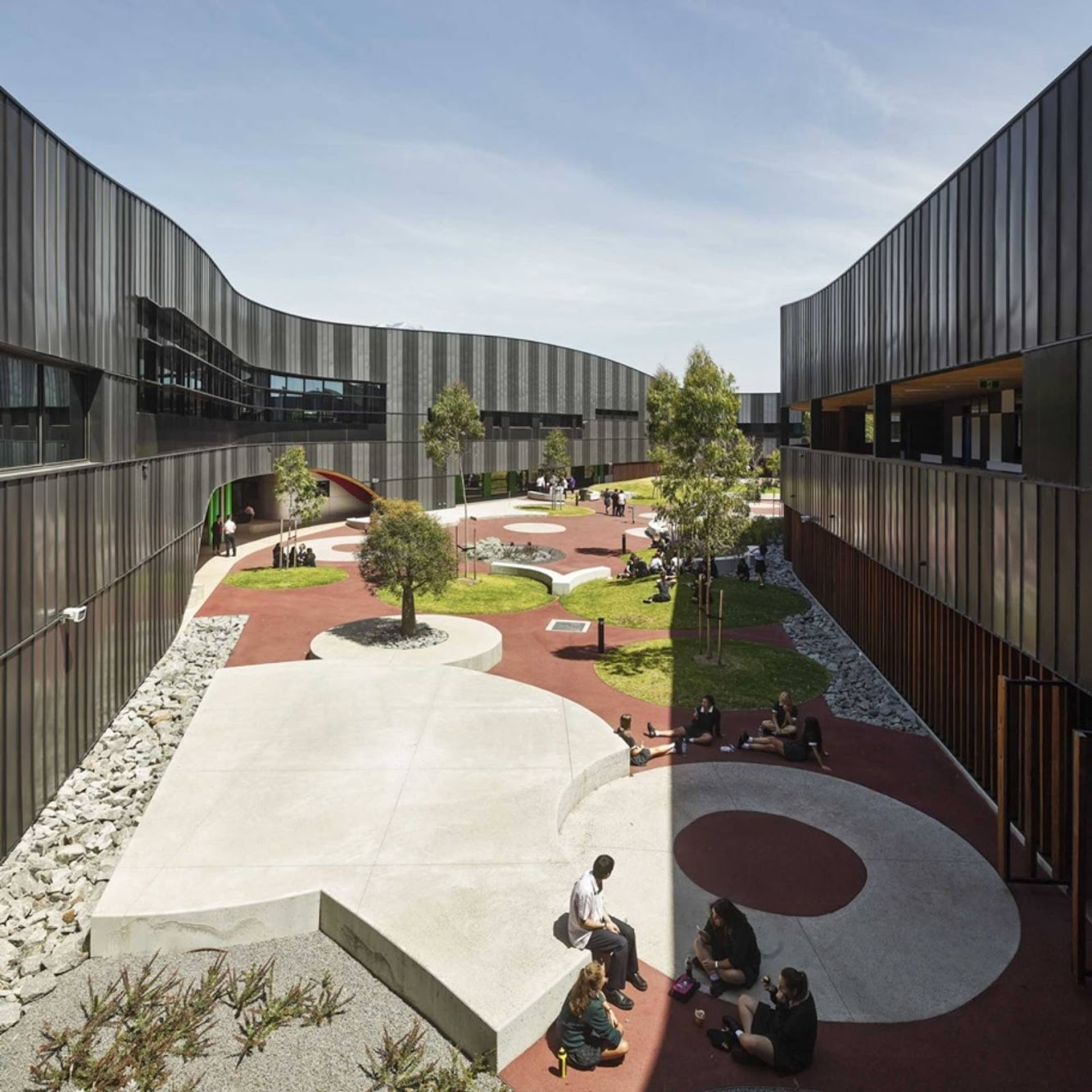 Los Angeles, California, Stati Uniti: Pegs Infinity Centre by Mcbride Charles Ryan Architects