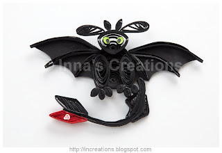 Quilled Night Fury