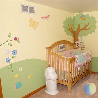 Ideas para preparar la cuna ideas para pintar el - Pintar dormitorio bebe ...