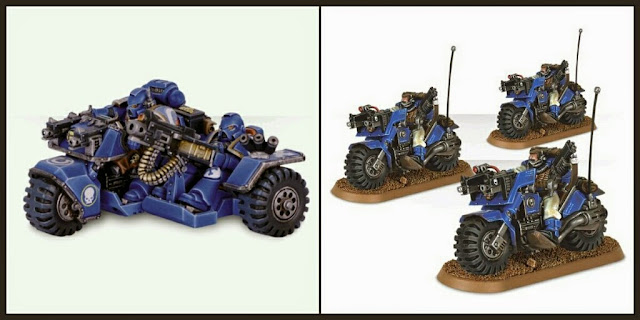 Motos Exploradores Marines Espaciales Games Workshop