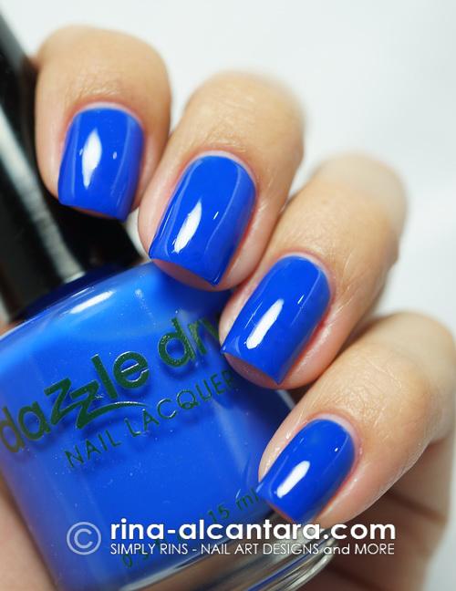 Dazzle Dry Blueberry Sno Cone