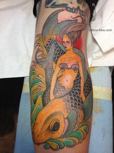 mermaid tattoo designs