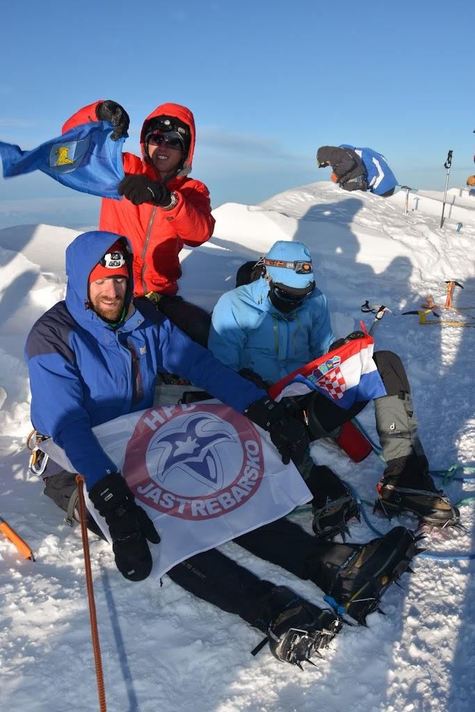 Jaskanska trojka na Mont Blancu