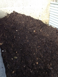 French village diaries homemade compost