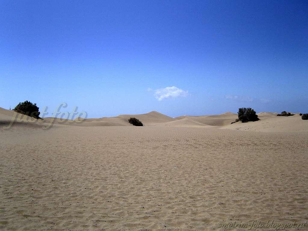 Гран Канария - дюны фото