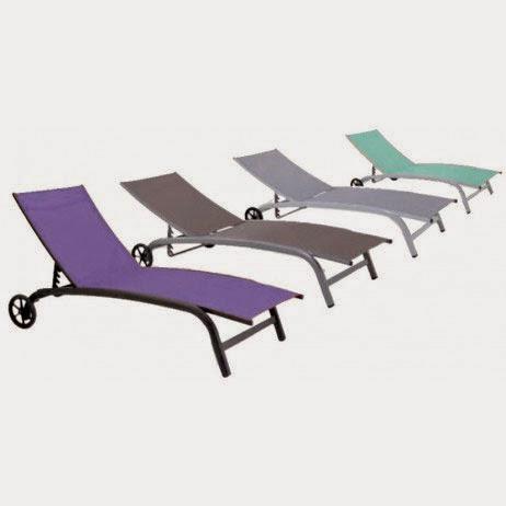 bain de soleil yucca - Chaise Longue Jardin Pas Cher