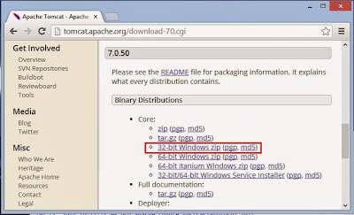 apache tomcat 7 download windows 64 bit