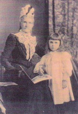 Charlotte with her grand daughter Lucy Constance Ivet