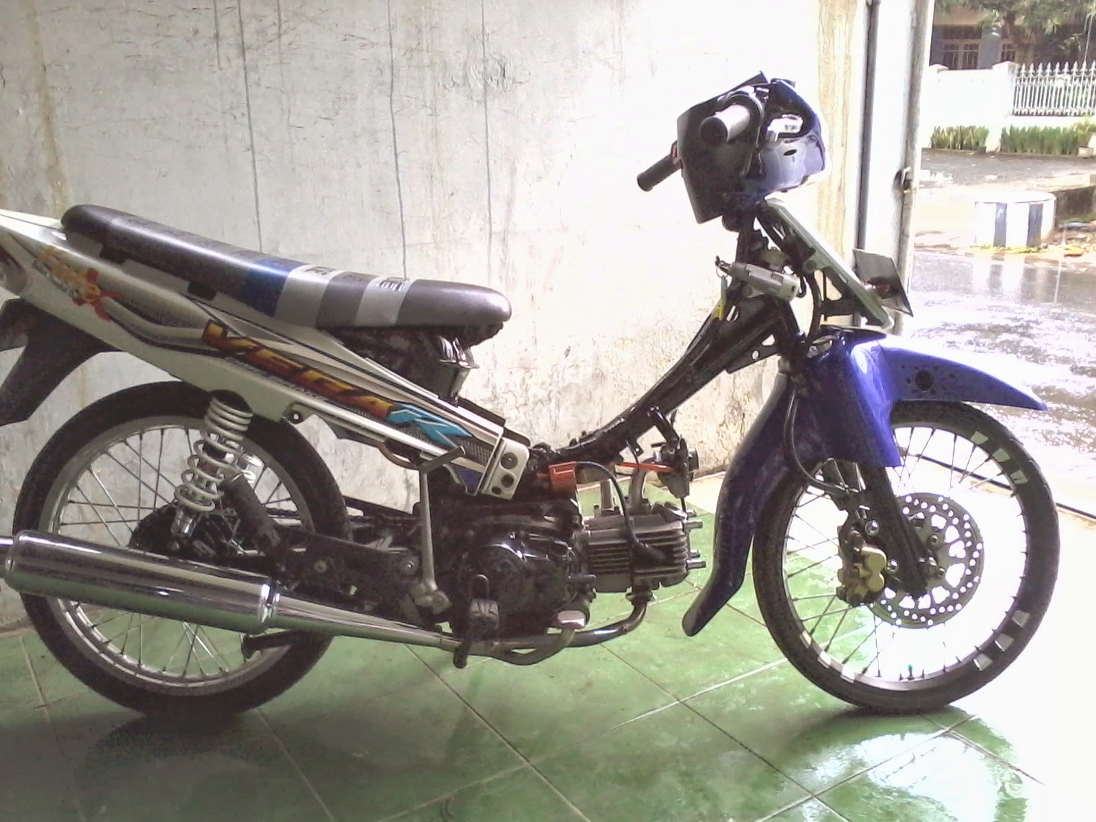 motor yamaha vega r 2007