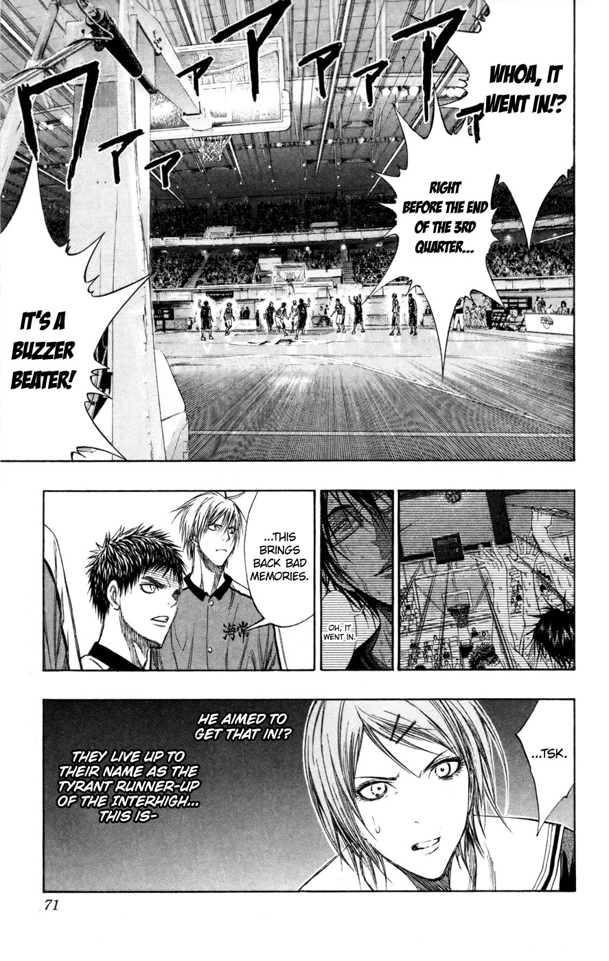 Kuroko no Basket Manga Chapter 130 - Image 05