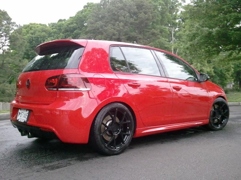 Golf 6 r red