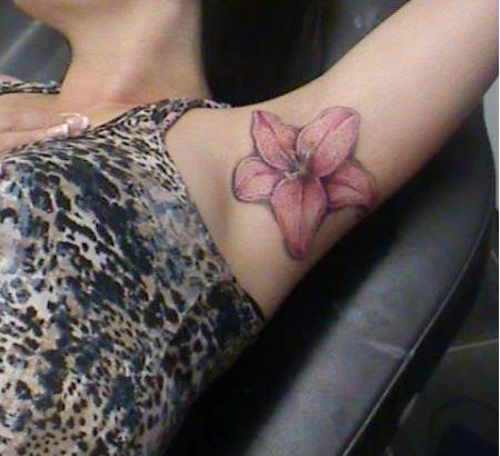 Underarm Tattoos