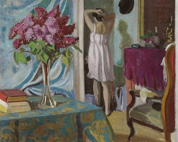 Jean Puy - Femme dans un intérieur