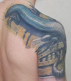 lizard tattoo ideas