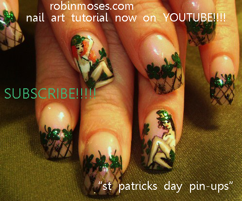 St Patrick Nails St Patrick Day Nails St Patricks Day Nail Art