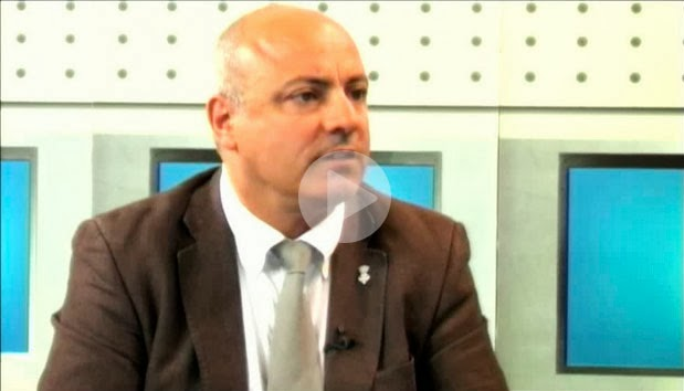Entrevista a Xavier Sanllehí, Alcalde de Castelló d'Empúries i President del Consell Comarcal de l'Alt Empordà, a Empordà TV.