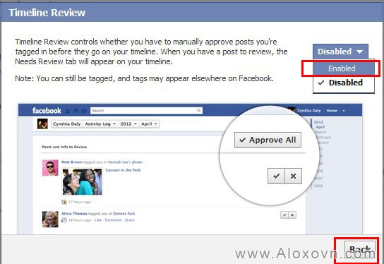 Cách chặn tag facebook