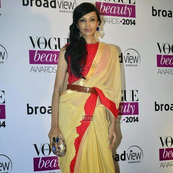 Dipannita Sharma attends Vogue Beauty Awards 2014, held at Hotel Taj Lands End in Mumbai, on July 22, 2014.(Pic: Viral Bhayani)