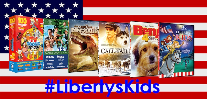 Liberty's Kids Giveaway: Mills Creek DVD Prize Pack
