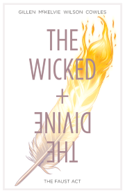 Cover art for The Wicked + The Divine Volume One