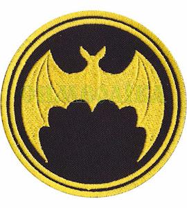 Нарукавний знак Кажан D8.5 жовтий