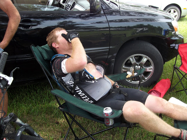 Nick hurting at CP2 DK200