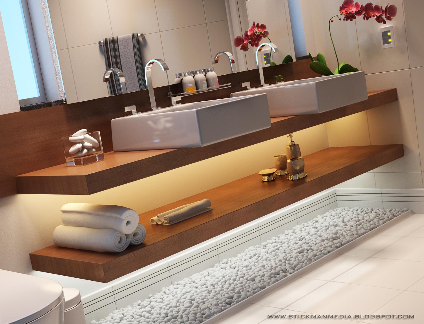 Stickman Media: Bancada de banheiro #996332 1447x1106 Bancada No Banheiro