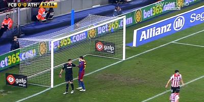 Copa Del Rey : Barcelona 0 vs 0 Athletic Bilbao 21-12-2010
