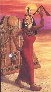 Sekhmet Lioness Headed Goddess Image