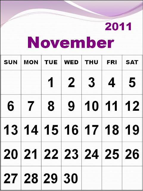 printables calendar 2011. 2011 printable calendar
