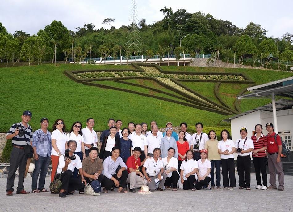 Mục vụ truyền thông TGP SG đi Hành hương