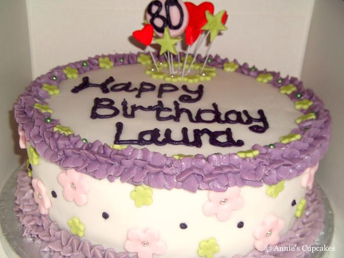 Annie S Cupcakes Happy Birthday Laura