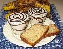 Mousse à la banane et au chocolat craquant