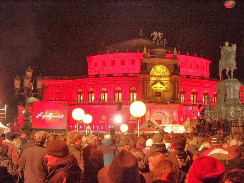 SemperOpenairball 2014 auf dem Theaterplatz Dresden