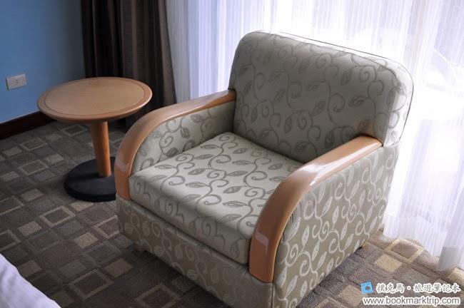 墾丁福華渡假飯店小沙發椅