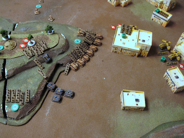 First assault win for the Guard, the Marines are wiped out.