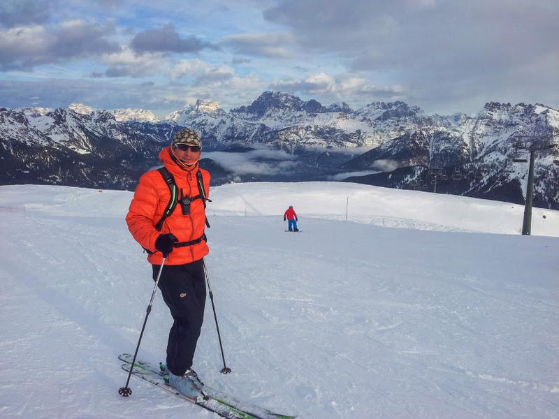 Ski in Italia :)