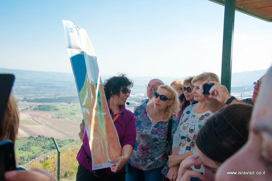 Гид-экскурсовод в Израиле Светлана Фиалкова. Верхняя Галилея, Метула.